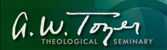 A.W. Tozer Theological Seminary Logo