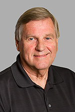 A headshot of Simpson University Board of Trustee member Harold Kimball