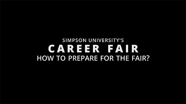 How to prepare for the career fair