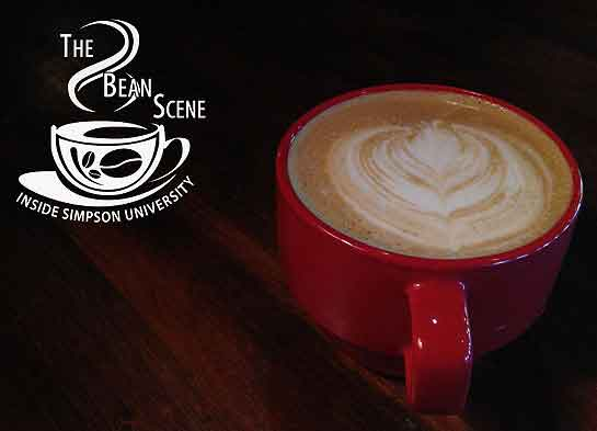 A photo of one of the beverages the Bean Scene coffee shop serves