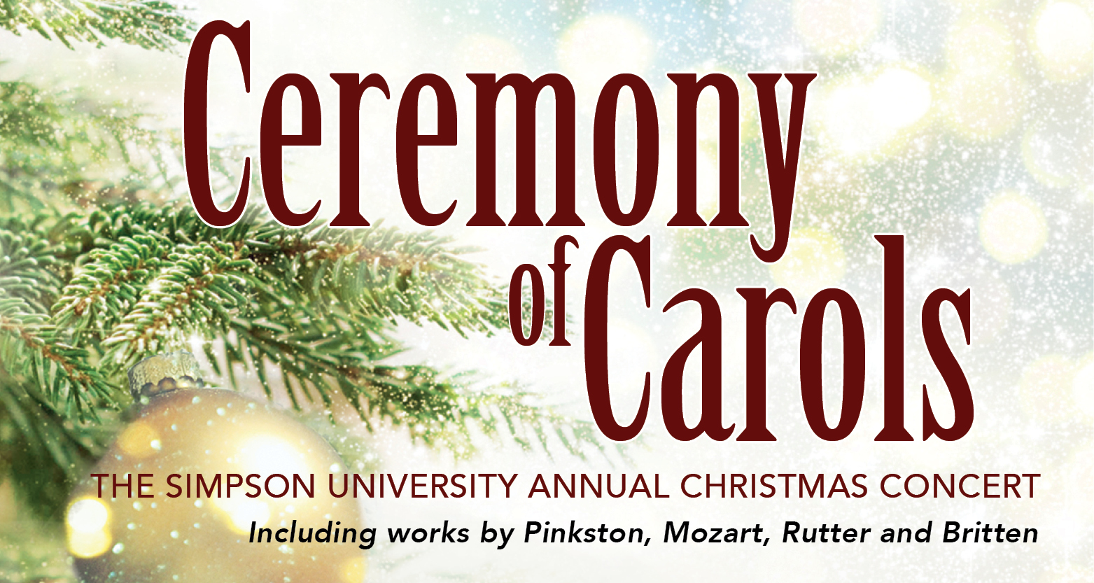 Ceremony of Carols Christmas Concert
