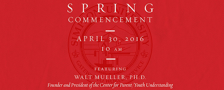 Simpson University Spring Commencement 2016