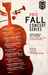 2012 Fall Concert Series Poster