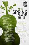 2013 Spring Concert Series Poster