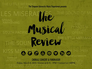 The Musical Review concert and fundraiser