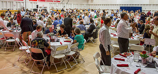 Attendees at the 13th annual Business Leadership Luncheon