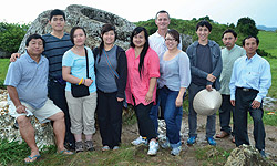 Simpson University students and Dr. Stephen Bailey traveled to Laos on a missions trip in summer 2013