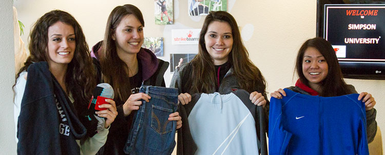 Good News Rescue Mission Clothing Drive Donations