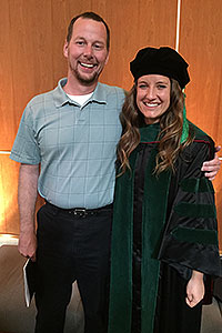 Erin Hoffman and Dr. Trent Smith