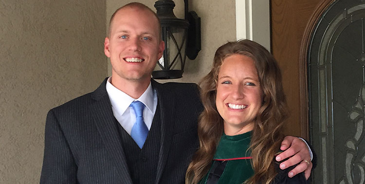 Erin Hoffman and her husband Logan