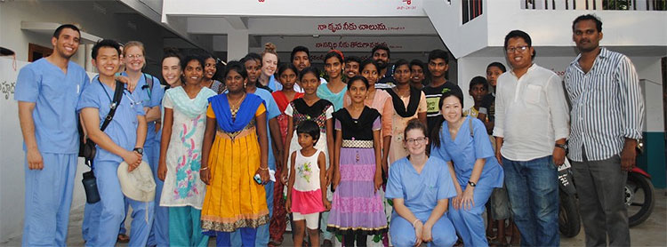 Simpson University nursing students particpate in a mission trip to India