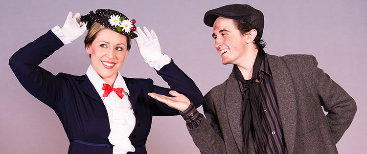 Simpson University music alumna Kim Acuña stars as Mary Poppins in a local production