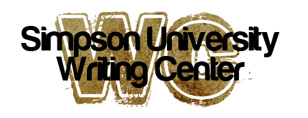Simpson University Writing Center Logo